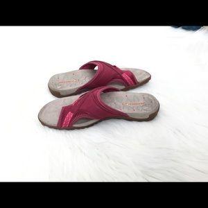 Merrell Shoes - M E R R E L L  Leather & Mesh Pink Sport Sandals